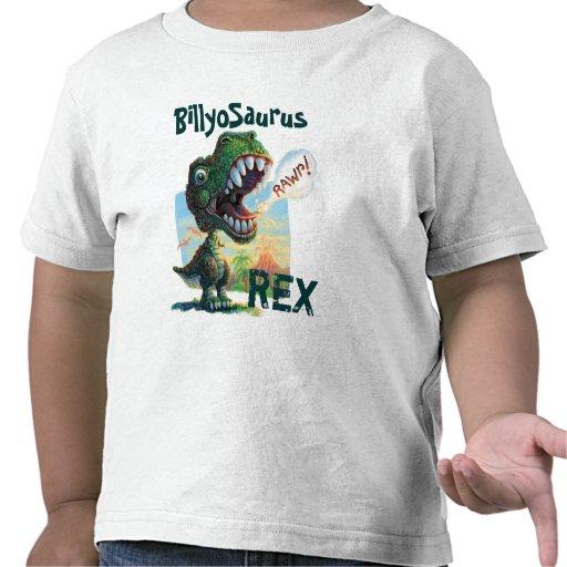 Poco T Rex pintado Camisetas