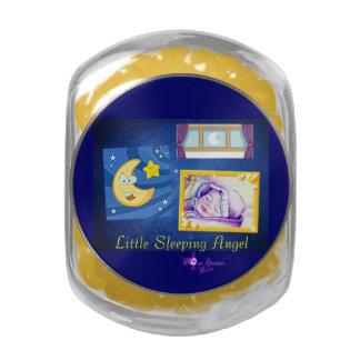 Poco tarro del vidrio del Belly de la jalea del Jarras De Cristal Jelly Bely