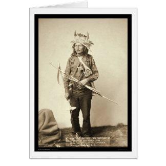 Poco, tocado SD 1890 del cuerno que lleva Tarjeta