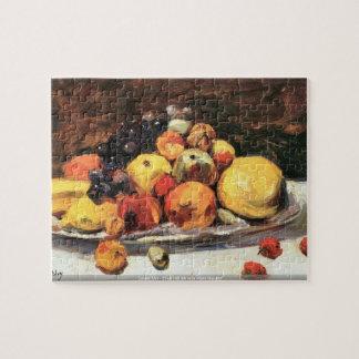 Poco Ury - todavía de la fruta vida en una manta b Rompecabeza Con Fotos