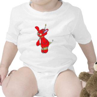 Poco vector trajes de bebé
