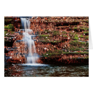 Pocono Cascade Waterfall Card