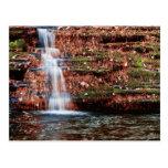 Pocono Cascade Waterfall Postcard