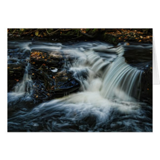 Pocono waterfalls card