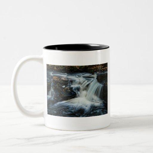 Pocono waterfalls coffee mugs