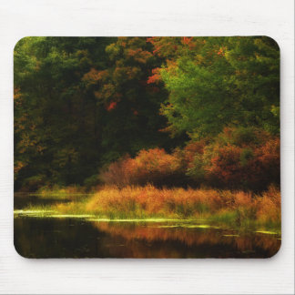 Poconos Autumn Scene Mouse Pad