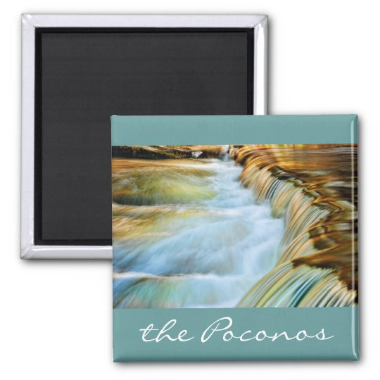 Poconos Waterfall Magnet