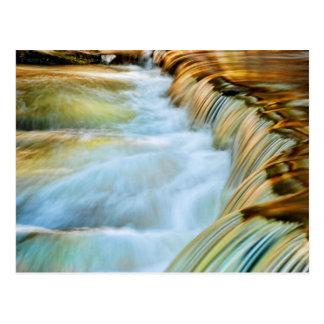 Poconos Waterfall Postcard