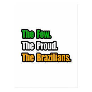 Pocos brasilen os orgullosos postal