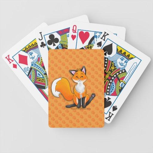Pocos naipes del Fox Baraja