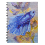 Pocos pescados azules de Betta Notebook