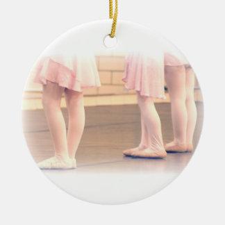 Pocos pies del ballet ornamento para reyes magos