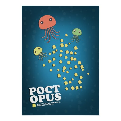 Poctopus Poster