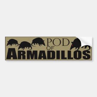 Pod of Armadillos Bumper Stickers