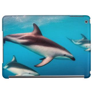 Pod of Dusky Dolphins off of Kaikoura iPad Air Covers