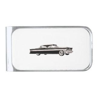 Podadoras 1956 de Packard Clip Para Billetes Plateado
