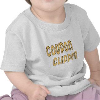 Podadoras de cupón camiseta