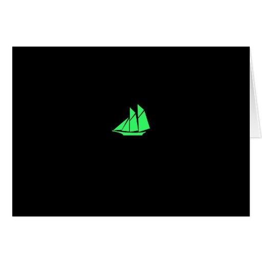 Podadoras de Glow_Green del océano Tarjeta De Felicitación