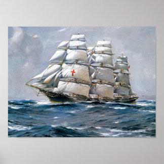 Podadoras de la navegación de Dreadnought Póster