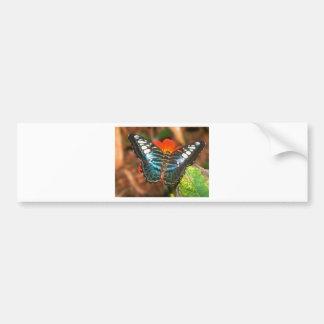 podadoras de las mariposas pegatina para auto