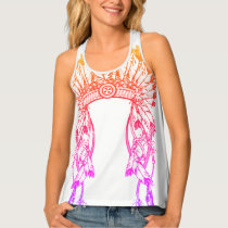 podALMIGHTY.net BIG CHIEF RAINBOW Tank Top