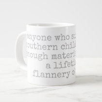 podalmighty.net Flanerry O'connor quote mug