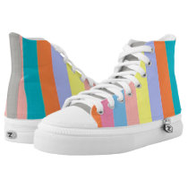 PODALMIGHTY.NET LA STRIPE high tops