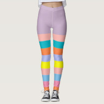 PODALMIGHTY.NET SANTA BARBARA STRIPE LEGGINGS