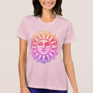 podalmighty.rocks STAR CROSSED SUN FACE RACER T-Shirt