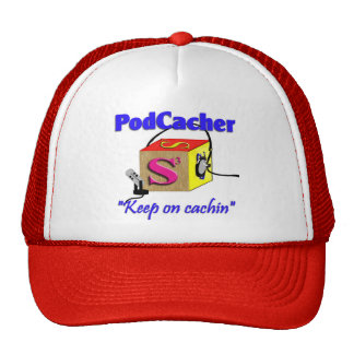 Podcacher cap trucker hat
