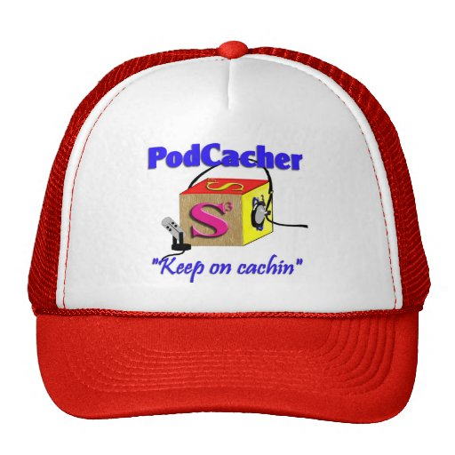 Podcacher cap trucker hat