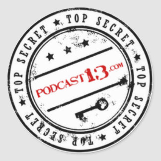 Podcast 13 Stickers