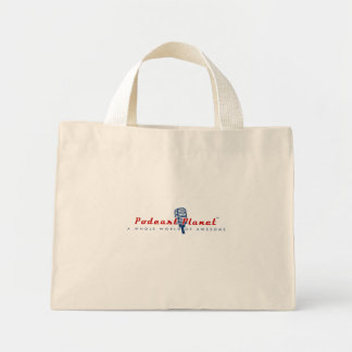 Podcast Planet Swag Mini Tote Bag