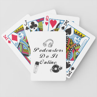 Podcasters Playing Cards