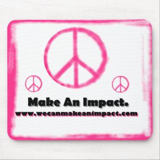 Podemos hacer las paces el impacto tapetes de ratón