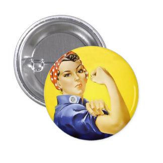 Podemos hacerlo botón pin redondo de 1 pulgada