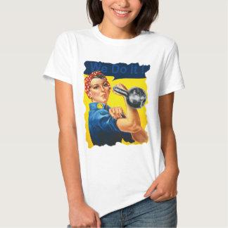 Podemos hacerlo camiseta de Kettlebell Playeras