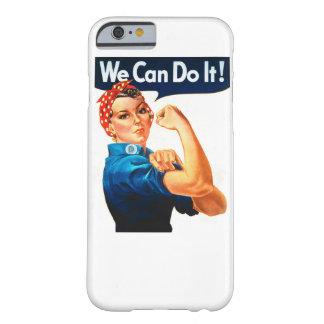 ¡Podemos hacerlo! Funda Para iPhone 6 Barely There