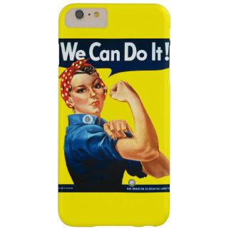 ¡Podemos hacerlo! Funda Para iPhone 6 Plus Barely There