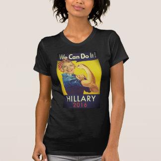 ¡Podemos hacerlo, Hillary para el presidente! Poleras