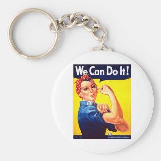 ¡Podemos hacerlo! Llavero Redondo Tipo Pin