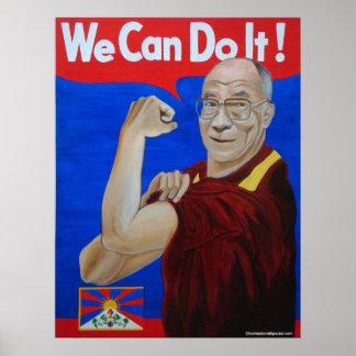 ¡Podemos hacerlo! - Poster de Dalai Lama
