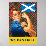 Podemos hacerlo poster escocés de la independencia