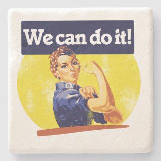 Podemos hacerlo remachador de Rosie Posavasos De Piedra