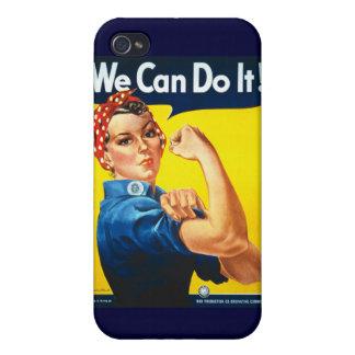 """¡""""Podemos hacerlo! /Rosie caso del iPhone 4/4S del iPhone 4 Carcasas"""