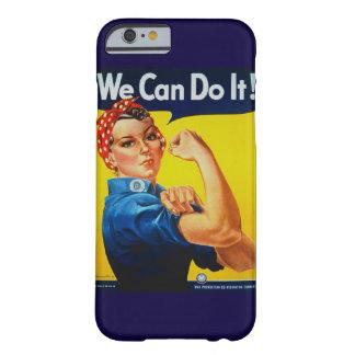 Podemos hacerlo Rosie el caso del iPhone 6 del Funda Para iPhone 6 Barely There