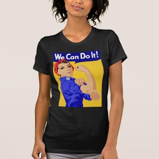 ¡Podemos hacerlo! Rosie el poster del remachador Camiseta