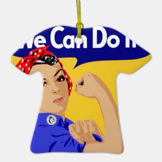 ¡Podemos hacerlo Rosie el poster del remachador W Ornato