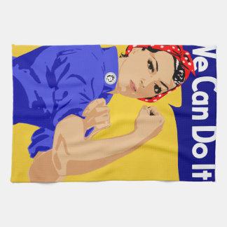 ¡Podemos hacerlo! Rosie el poster del remachador W Toalla De Mano