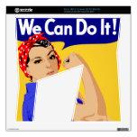¡Podemos hacerlo! Rosie el poster del remachador W Consola Xbox 360 S Calcomanía